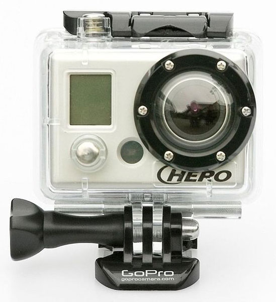 Easy to carry and mount GoPro